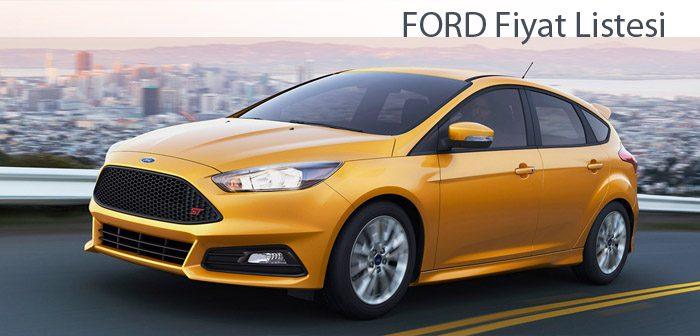 Ford Edge Fiyat Listesi 2017 >> FORD Fiyat Listesi 2017